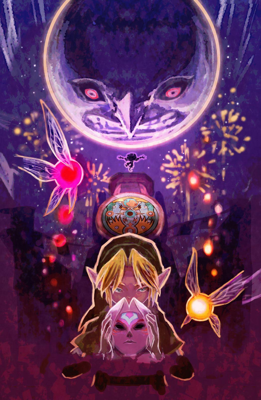 Majora's Mask: The Lunar Children | Zelda: Majora's Mask ...