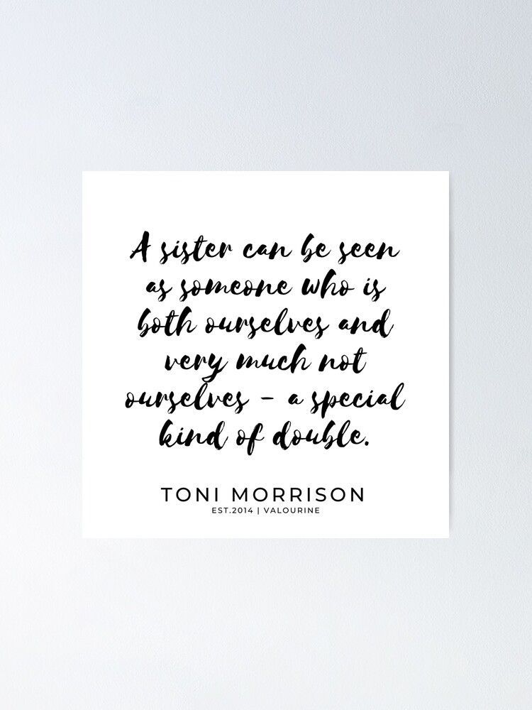 6 | Toni Morrison Quotes | 190807 Poster by QuotesGalore