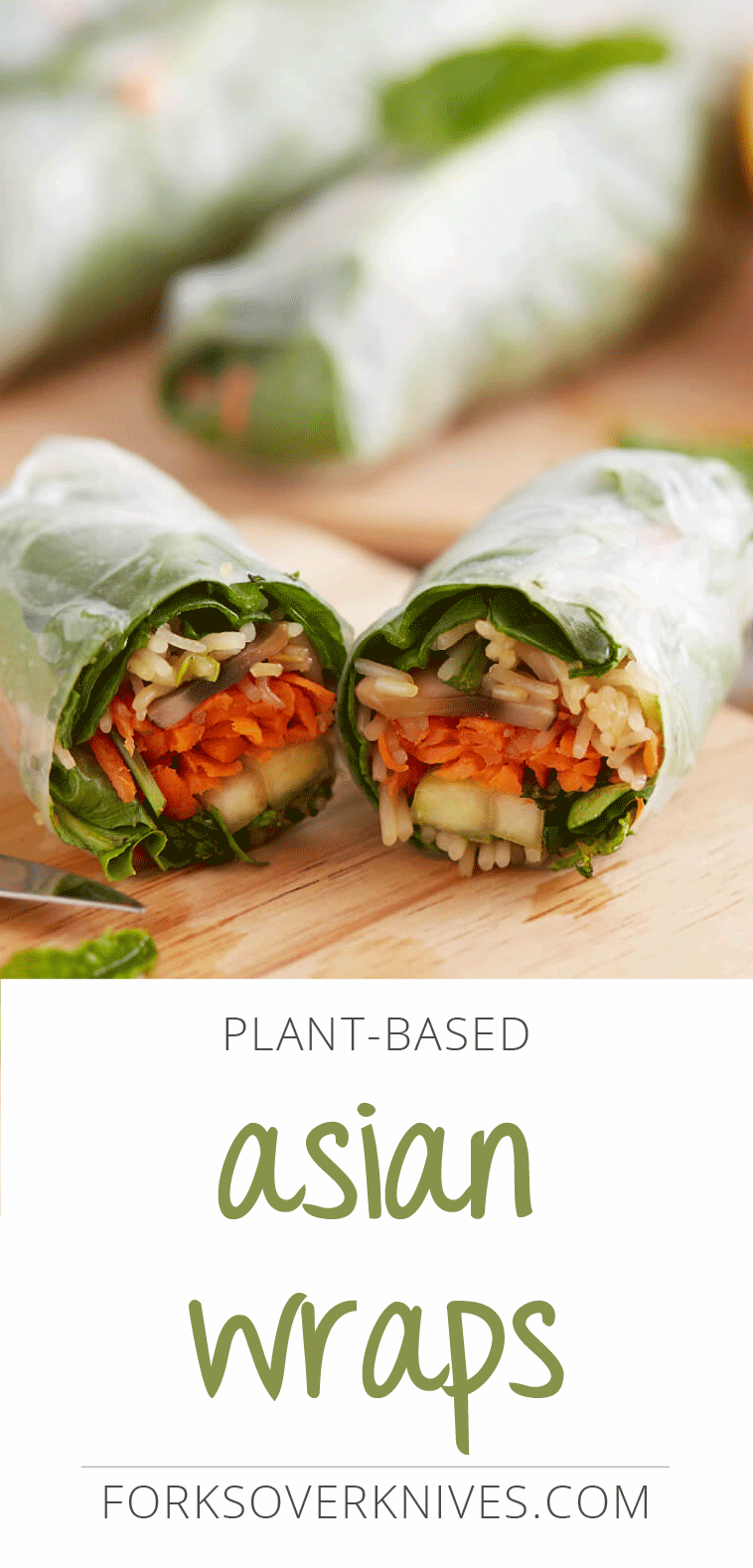 Asian Veggie Wraps