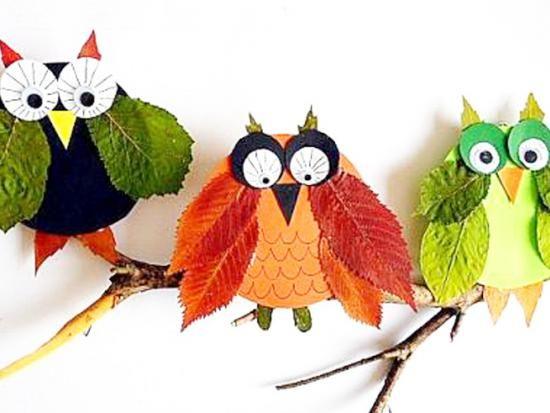fabriquer des animaux avec des feuilles bricolage enfant. Black Bedroom Furniture Sets. Home Design Ideas