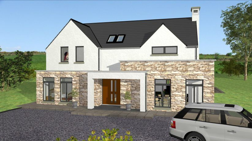 Apartments house designs for ireland plans and design modern irish story type mod exterior youtube ty storey also best images in country homes gable roof rh pinterest