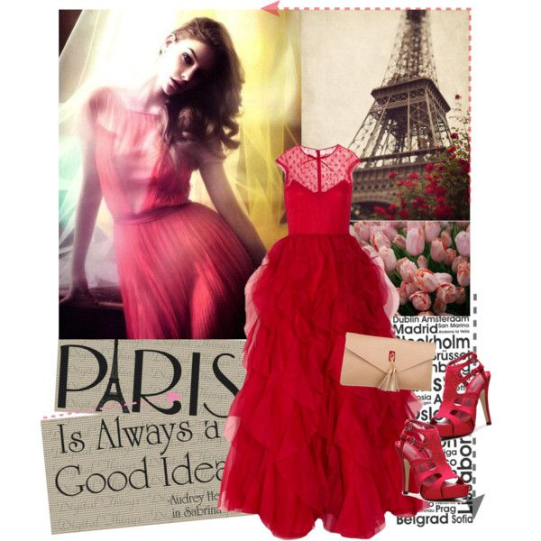 """Paris is always a good idea"" by valentinabakic on Polyvore"