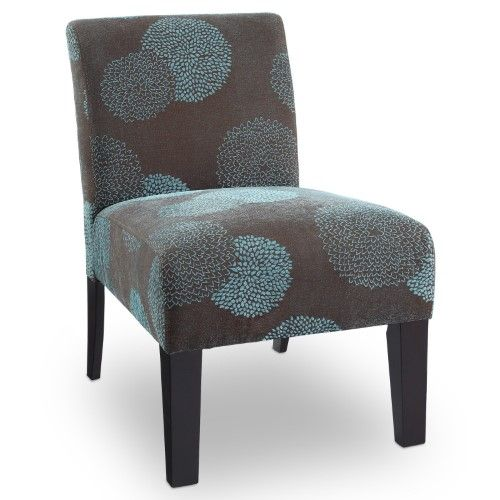 Deco Accent Chair Sunflower Blue Blue Accent Chairs