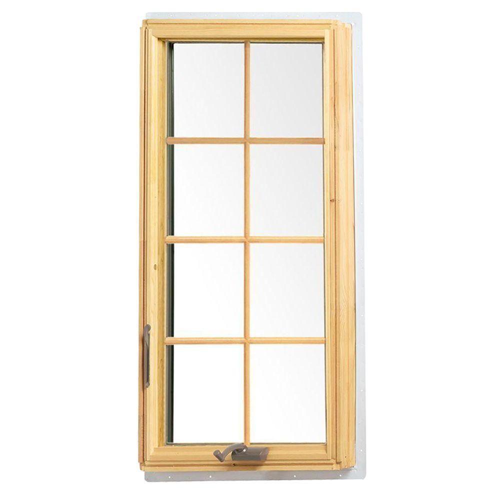 Andersen 24 125 In X 48 In White 400 Series Casement Wood Window