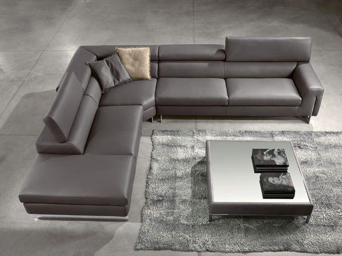 12 Fantastic Leather Sectional Couches Lederen Sofa Lederen Banken Bank Grijs