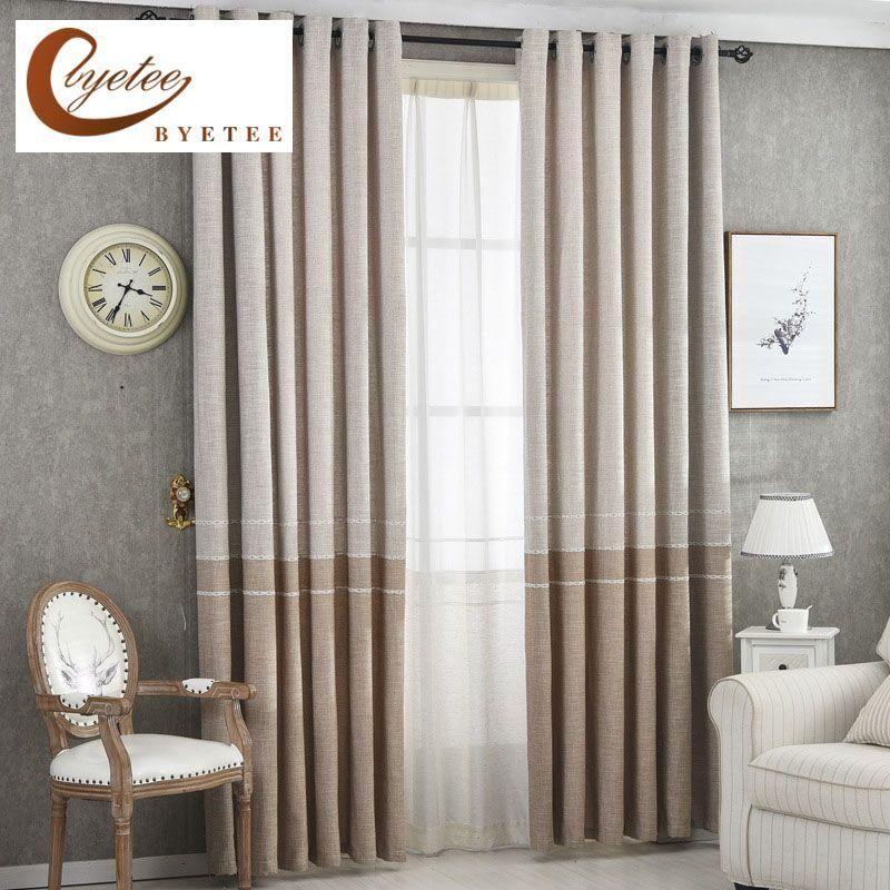GroBartig Günstige {Byetee} Moderne Vorhang Fabrics Wohnzimmer Fenster Küche Beste Vorhänge  Für Schlafzimmer Vorhänge Moderne