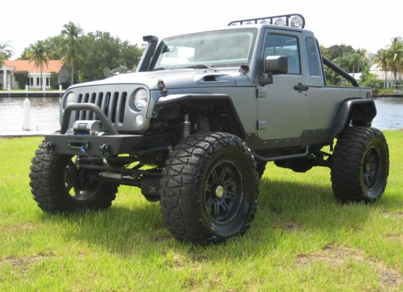 Expo Jeep Jk With Jk8 Conversion On 40s With A Hemi Offroad Jeep Jeep Jk Jeep Truck
