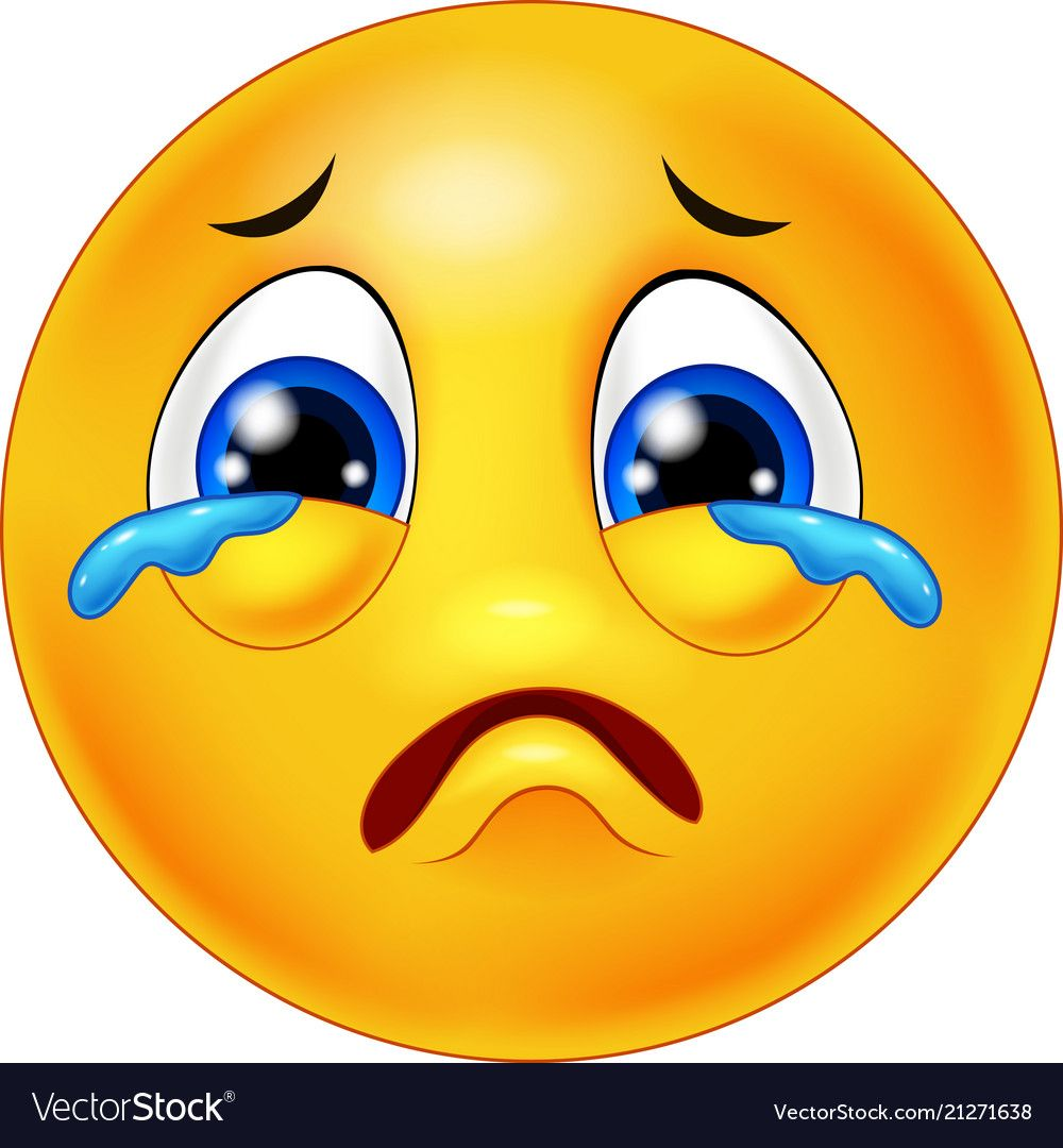 Crying Emoticon Cartoon Download A Free Preview Or High Quality Adobe Illustrator Ai Eps Pdf And High Resolu Crying Emoji Emoticons Emojis Funny Emoji Faces