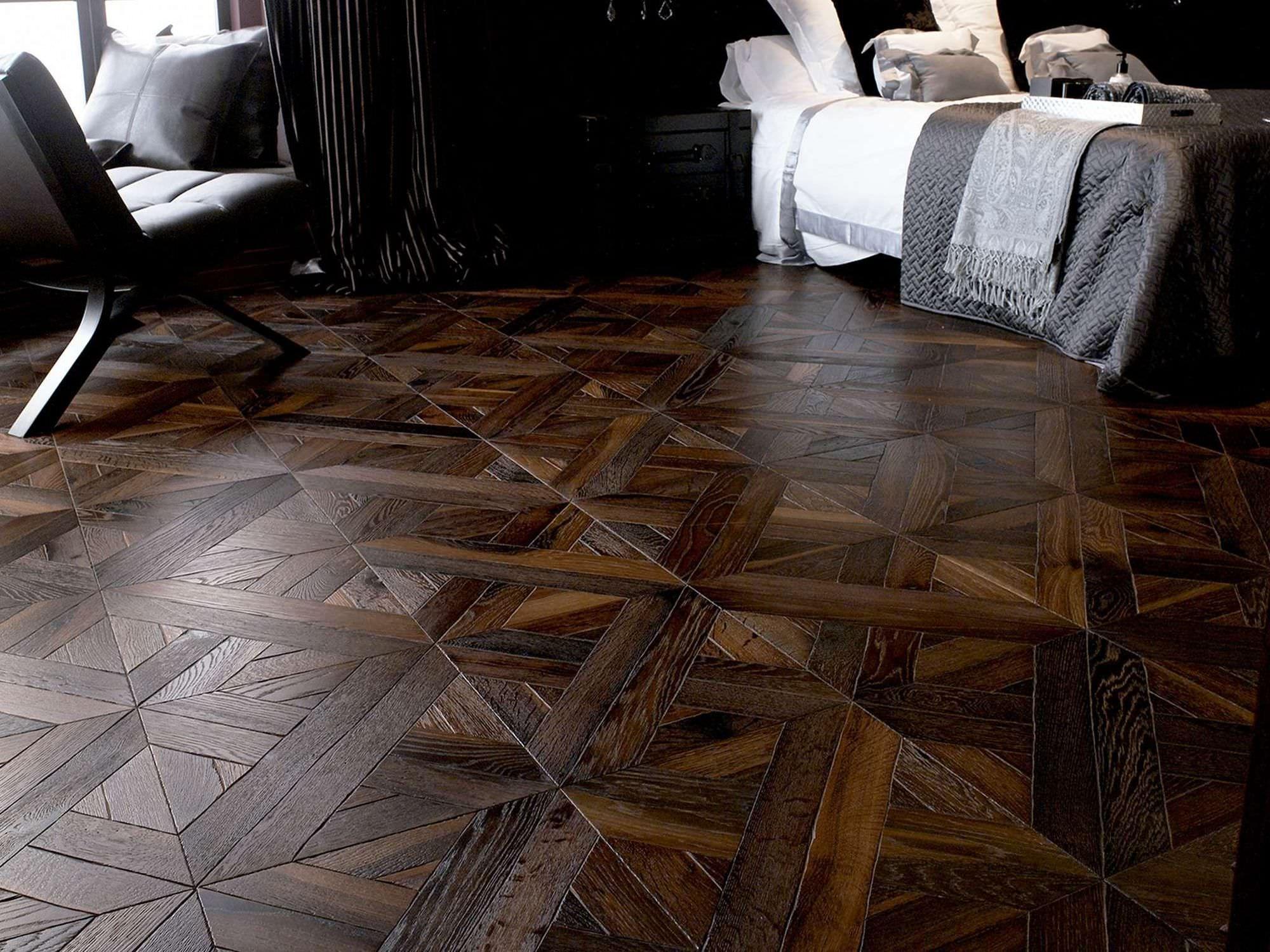 Solid parquet flooring / oak / oiled CLASSIC EBANO LUXOR L