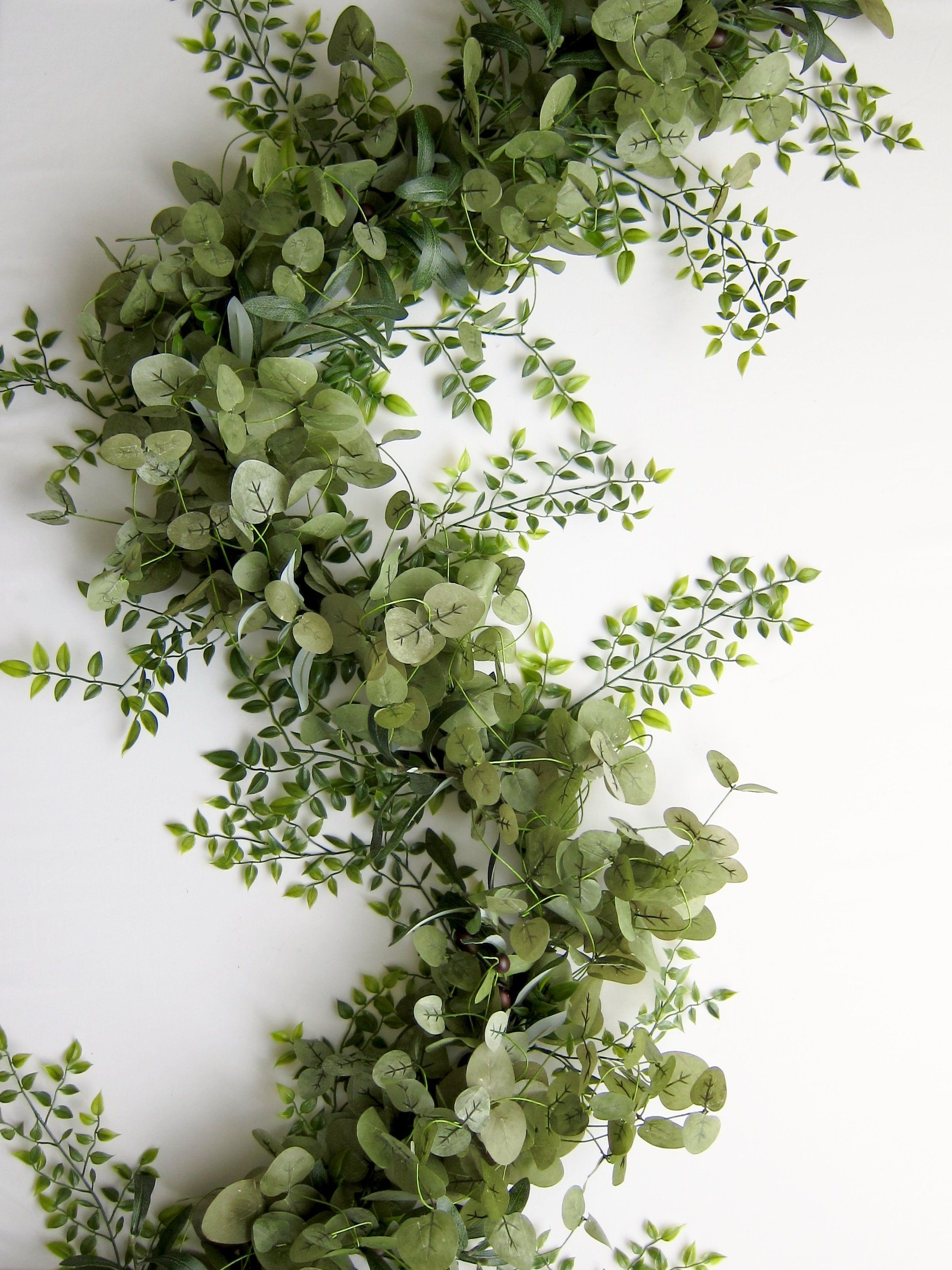 Just Eucalyptus Greenery Garland Diy wedding garland