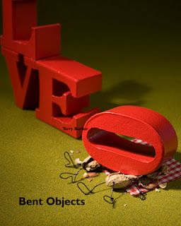 Love Hurts, Bent Objects by Terry Border.