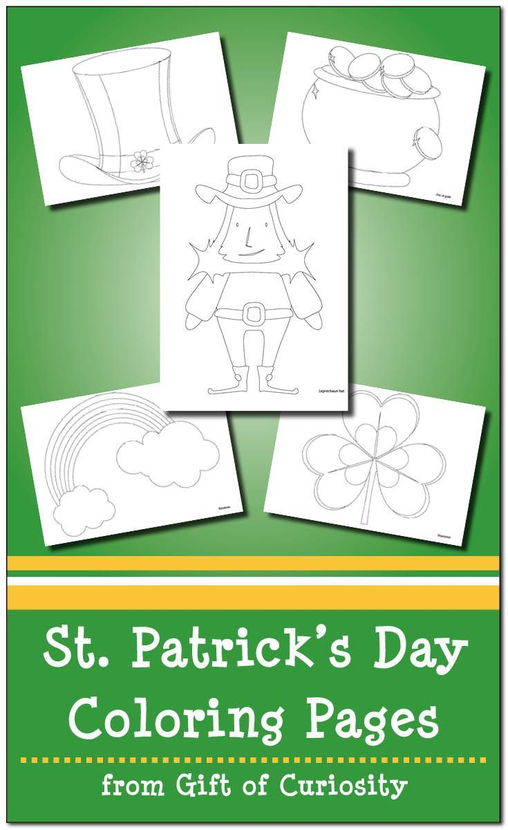 St. Patrick\'s Day Coloring Pages