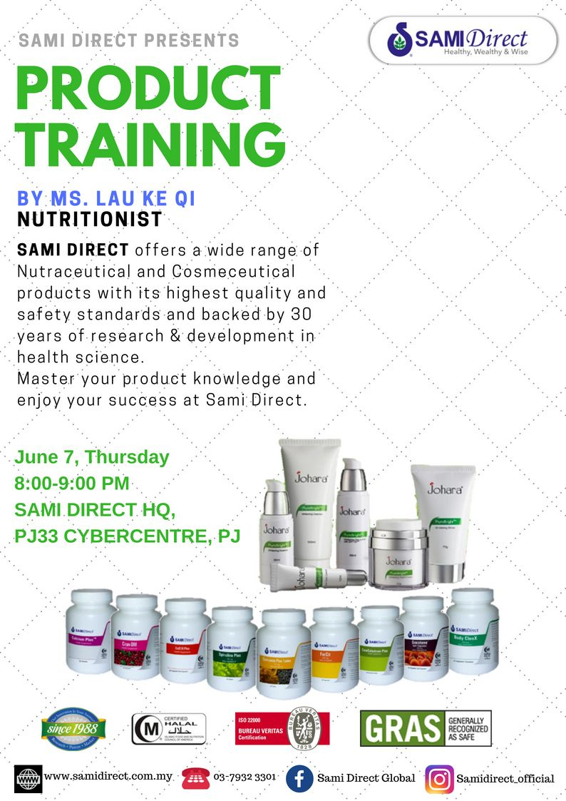 SAMI DIRECT offers a wide range of Nutraceutical and