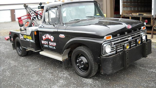 1966 Ford F350 Custom Cab Tow Truck Tow Truck 1979 Ford Truck