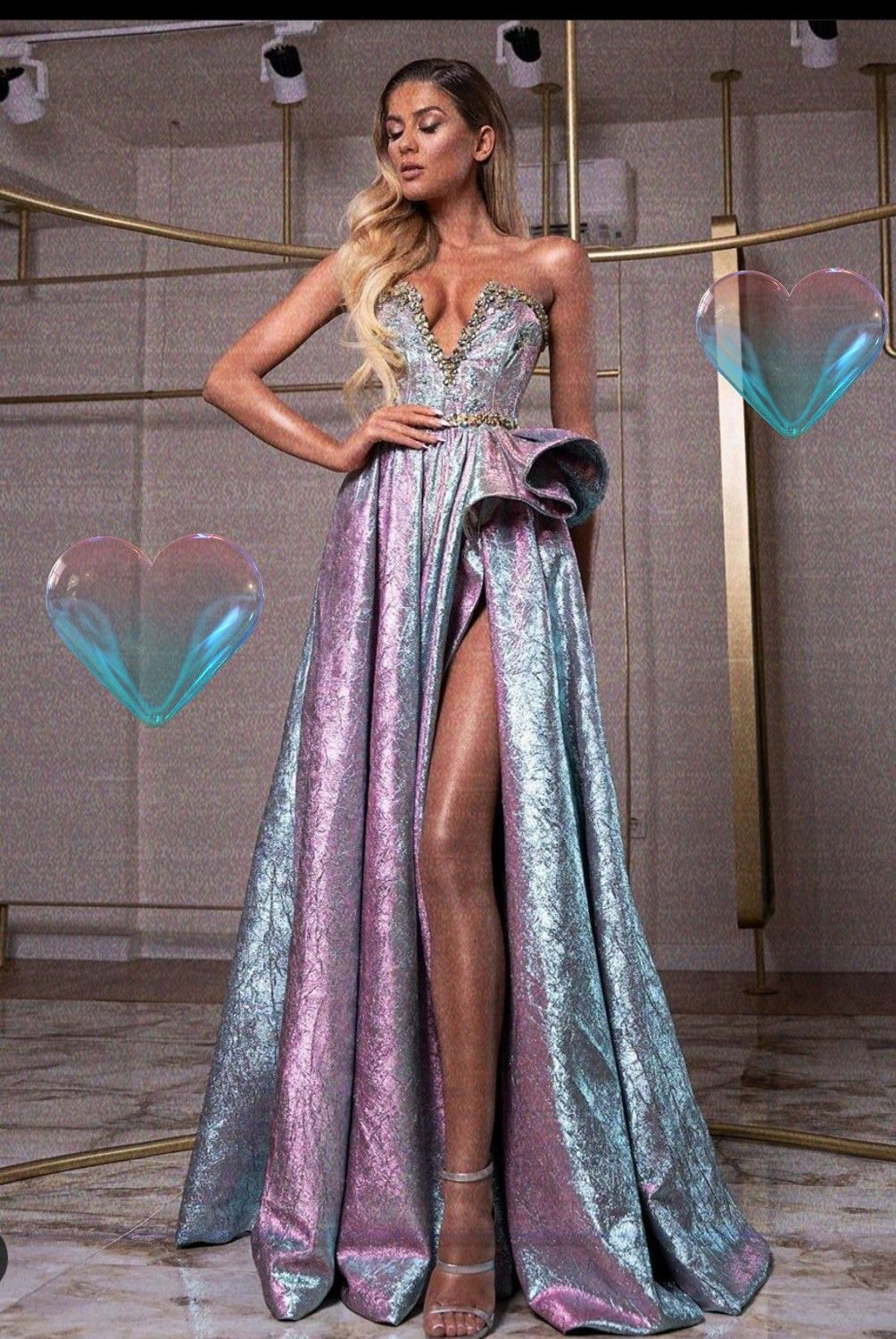 Galaxy Evening Prom Dress Prom Dresses Long With Sleeves Trendy Prom Dresses Gorgeous Dresses [ 1500 x 1004 Pixel ]