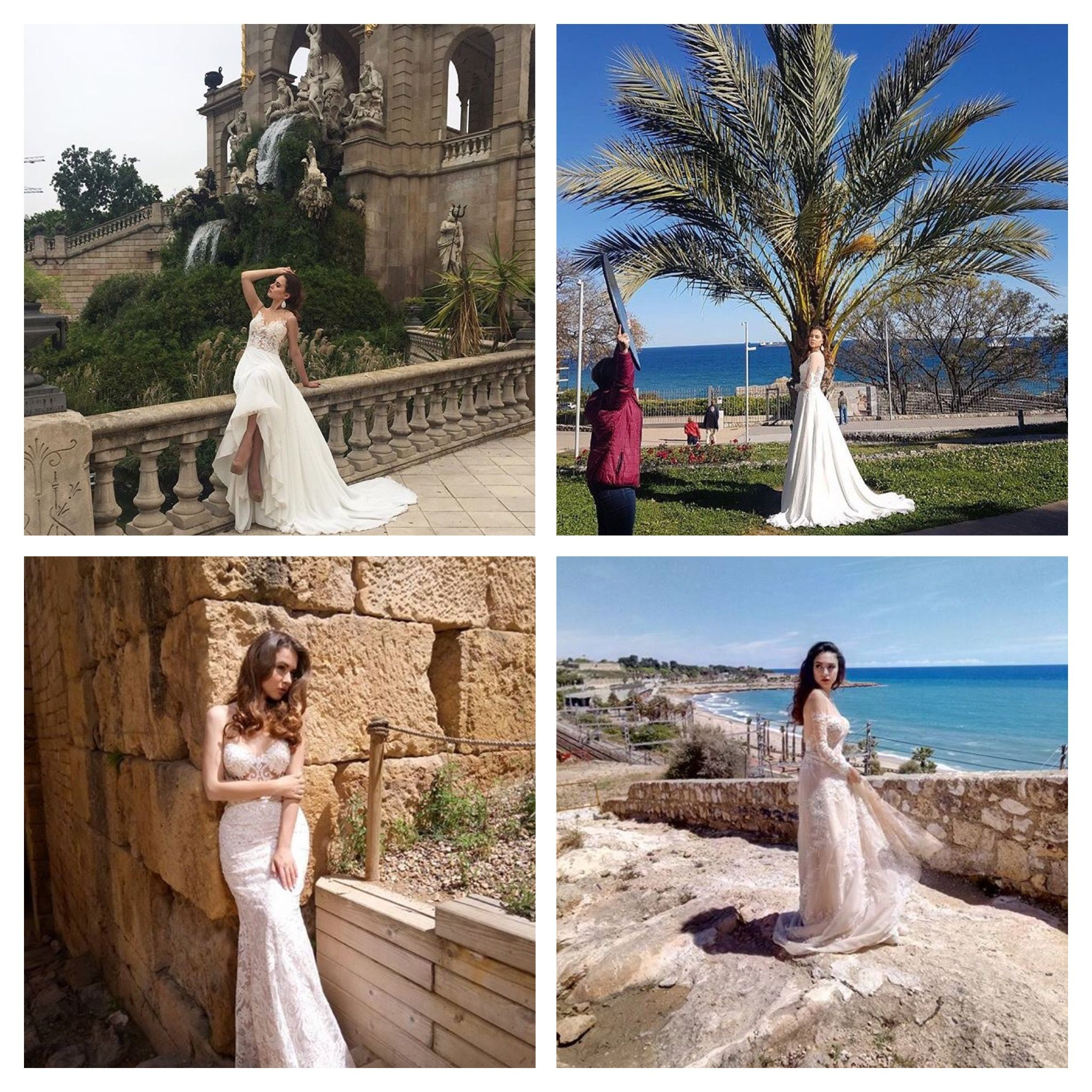 The second day of the photo session of new collection by