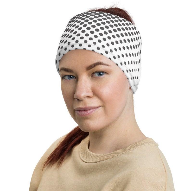Microfiber Neck Warmer Japanese Cherry Blossom Neck Gaiter Tube Ear Warmer Headband Scarf Face Mask Balaclava