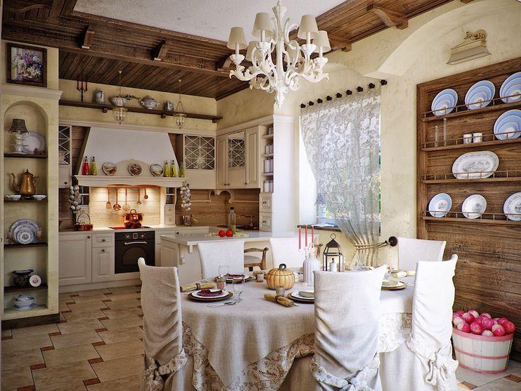 Idée Décoration Maison En Photos 2018 \u2013 décoration campagne chic