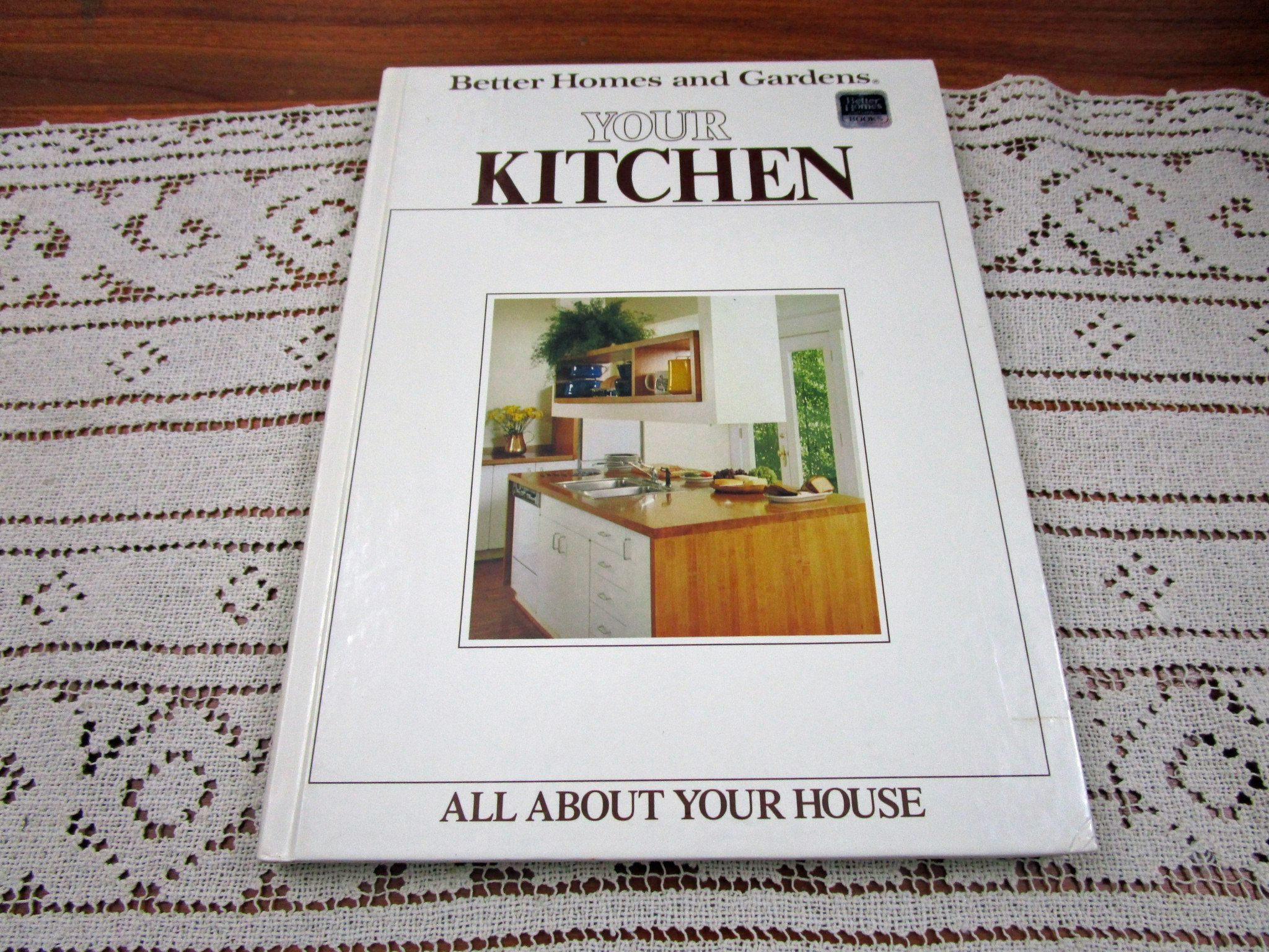 Vintage Your Kitchen Better Homes and Gardens BHG All About Your House Series Hardcover Book Projects How To by KattsCurioCabinet on Etsy
