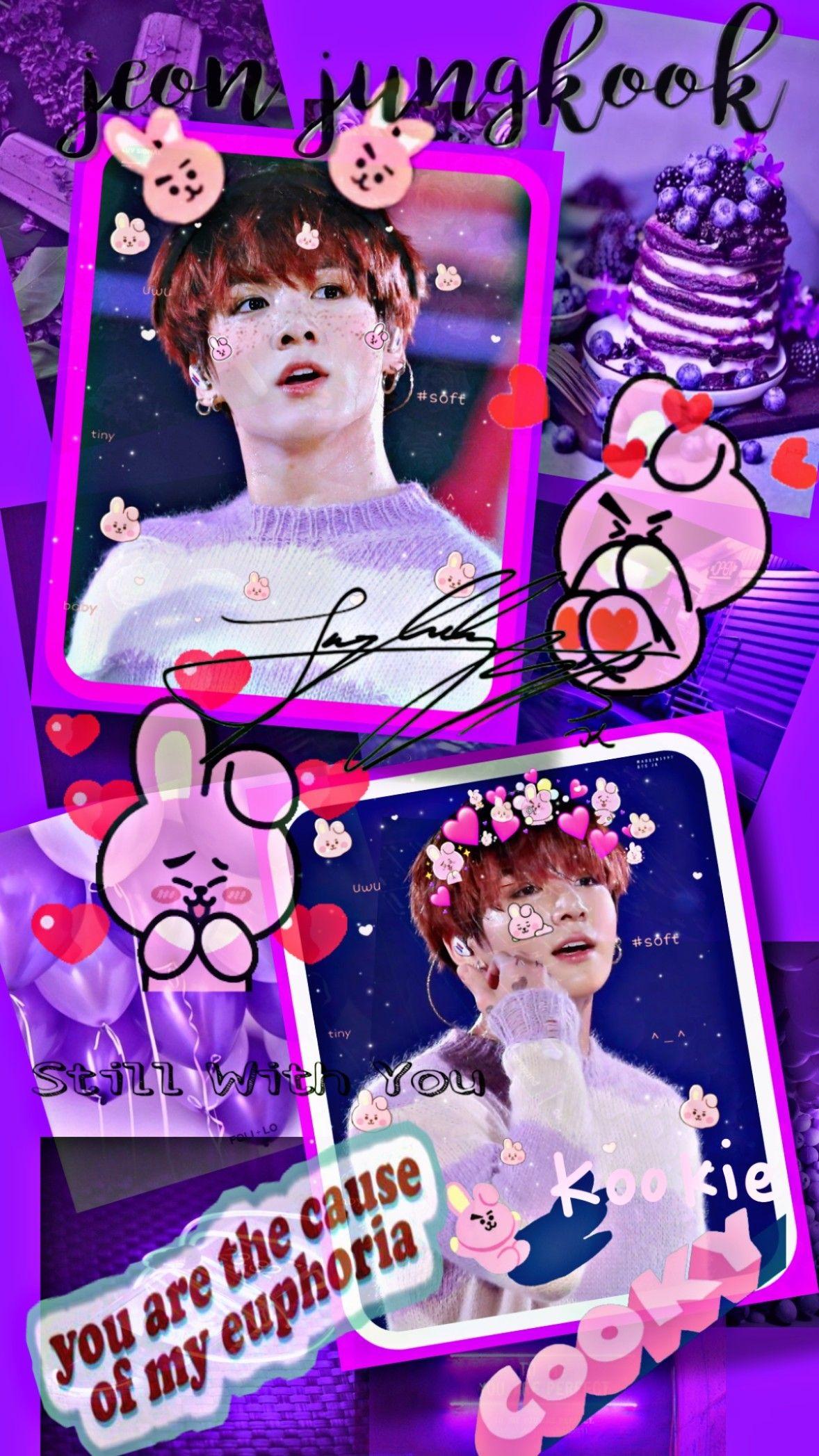 Jungkook Bts Wallpaper Di 2021 Foto Lucu Lucu Bts wallpaper 2021 purple