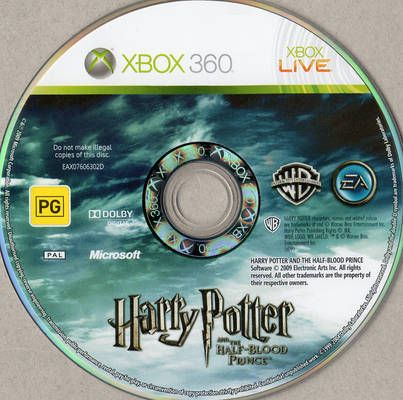 Harry Potter And The Half Blood Prince Pal Xbox 360