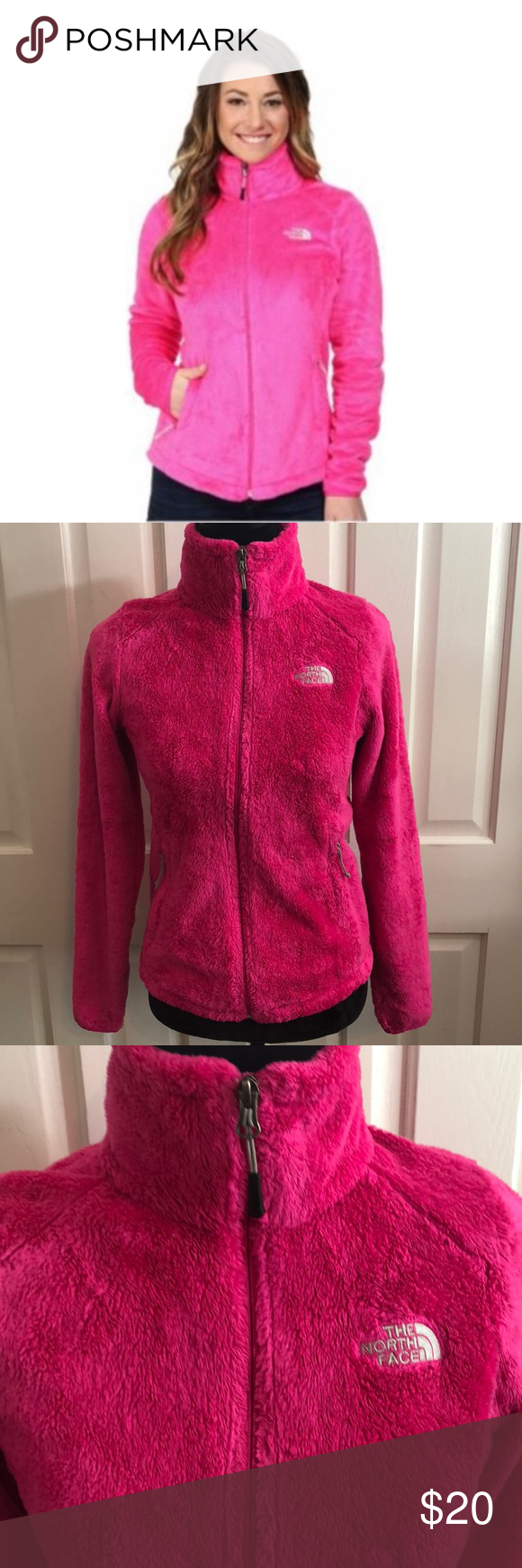The North Face Womens Osito 2 Jacket North Face Women The North Face Fashion [ 1740 x 580 Pixel ]