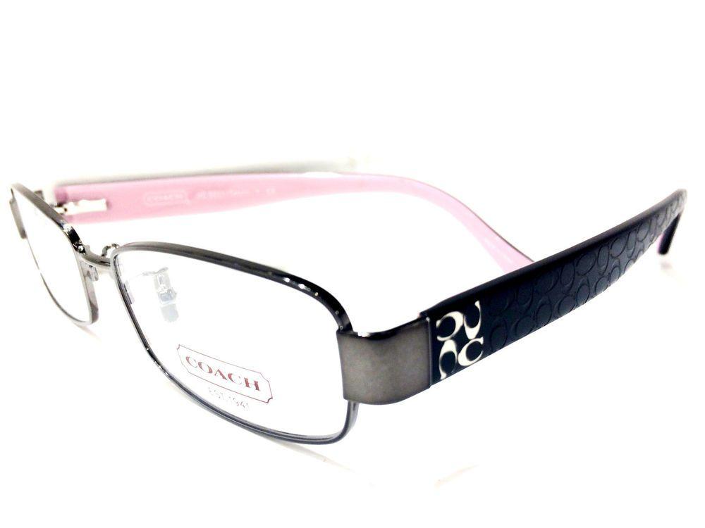 8e49f8d20a14c New Eyeglasses COACH HC 5001 (TARYN) 9021 (DARK SILVER) 50-16 135  COACH
