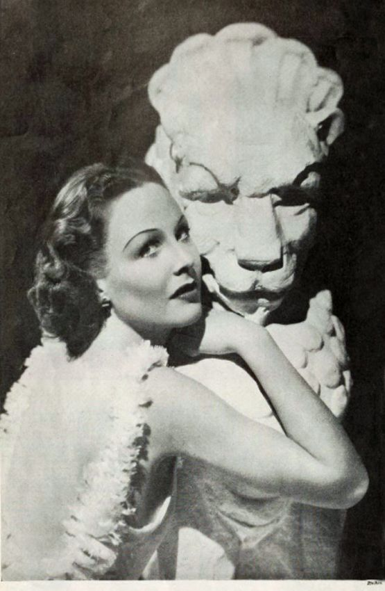 """Wendy Barrie (1912-1978) by Eugene Robert Richee, from """"New Movie"""", September 1935"""
