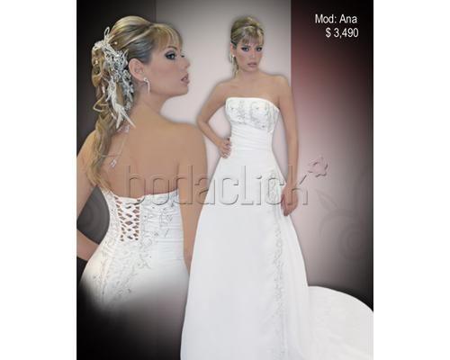 Vestido de novia modelo Ana