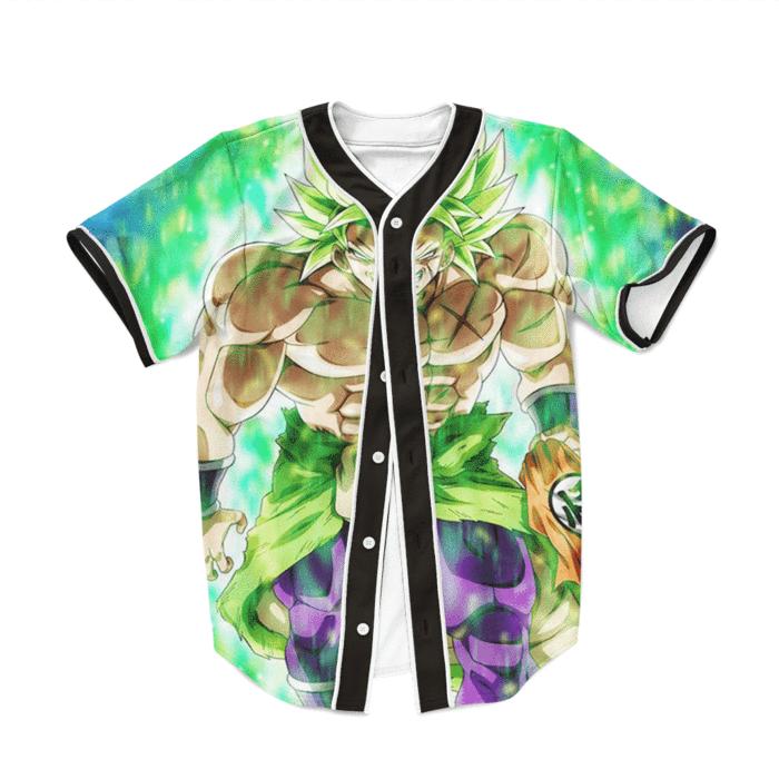 Dragon Ball Z Strong Legendary Saiyan Broly Baseball Jersey  dragonball   dbz  jersey  baseballjersey  baseball 8e0a5f145