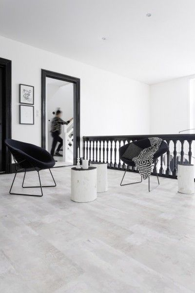 lame pvc clipsable blanc gerflor senso lock plus 55 0938 gotha clear bricoflor sol blanc. Black Bedroom Furniture Sets. Home Design Ideas