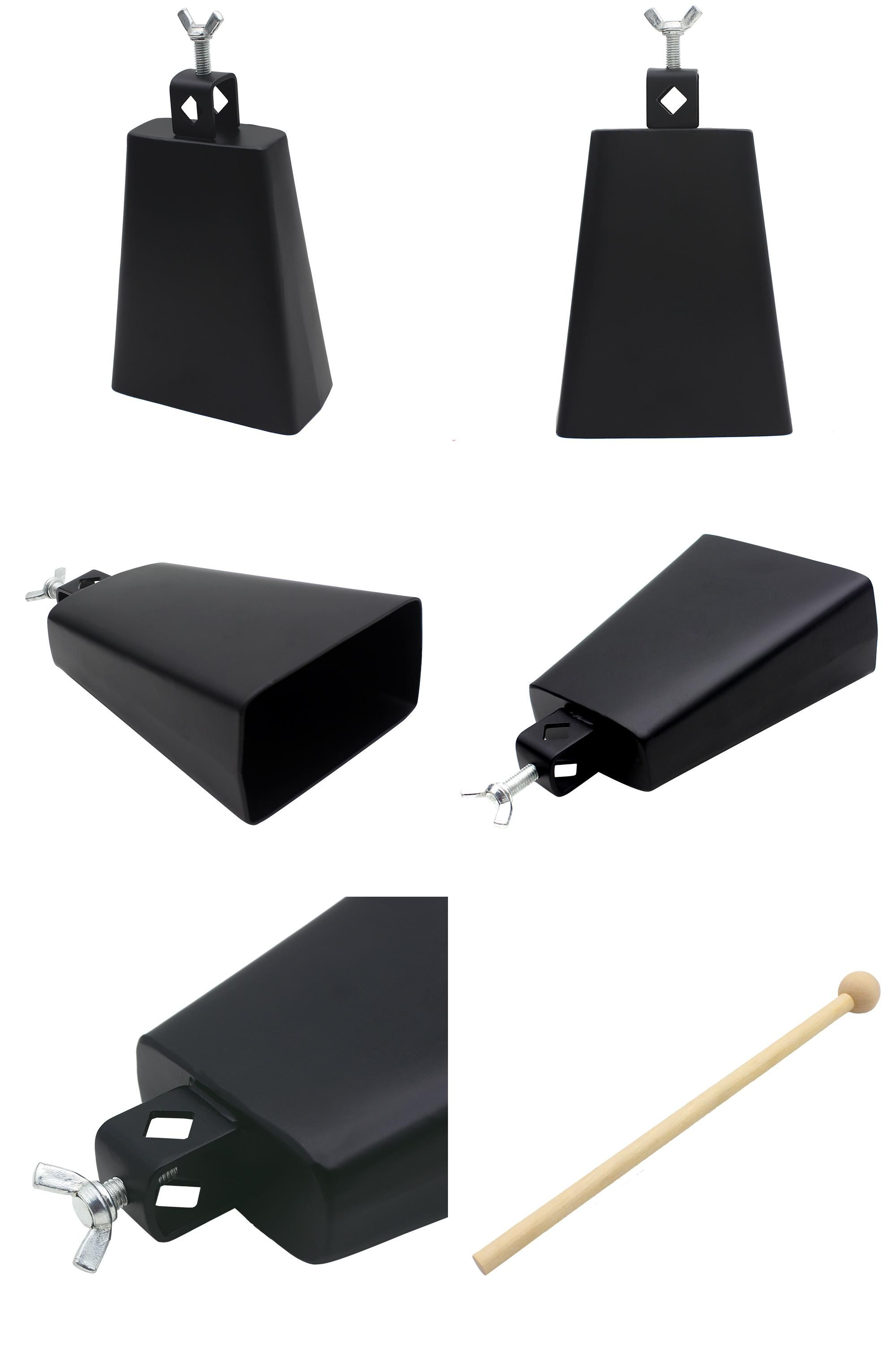 Visit To Buy Irin Stylish 6 Inch Black Metal Cowbell Cattlebell  # Meuble Tv Fly Snaile Montage