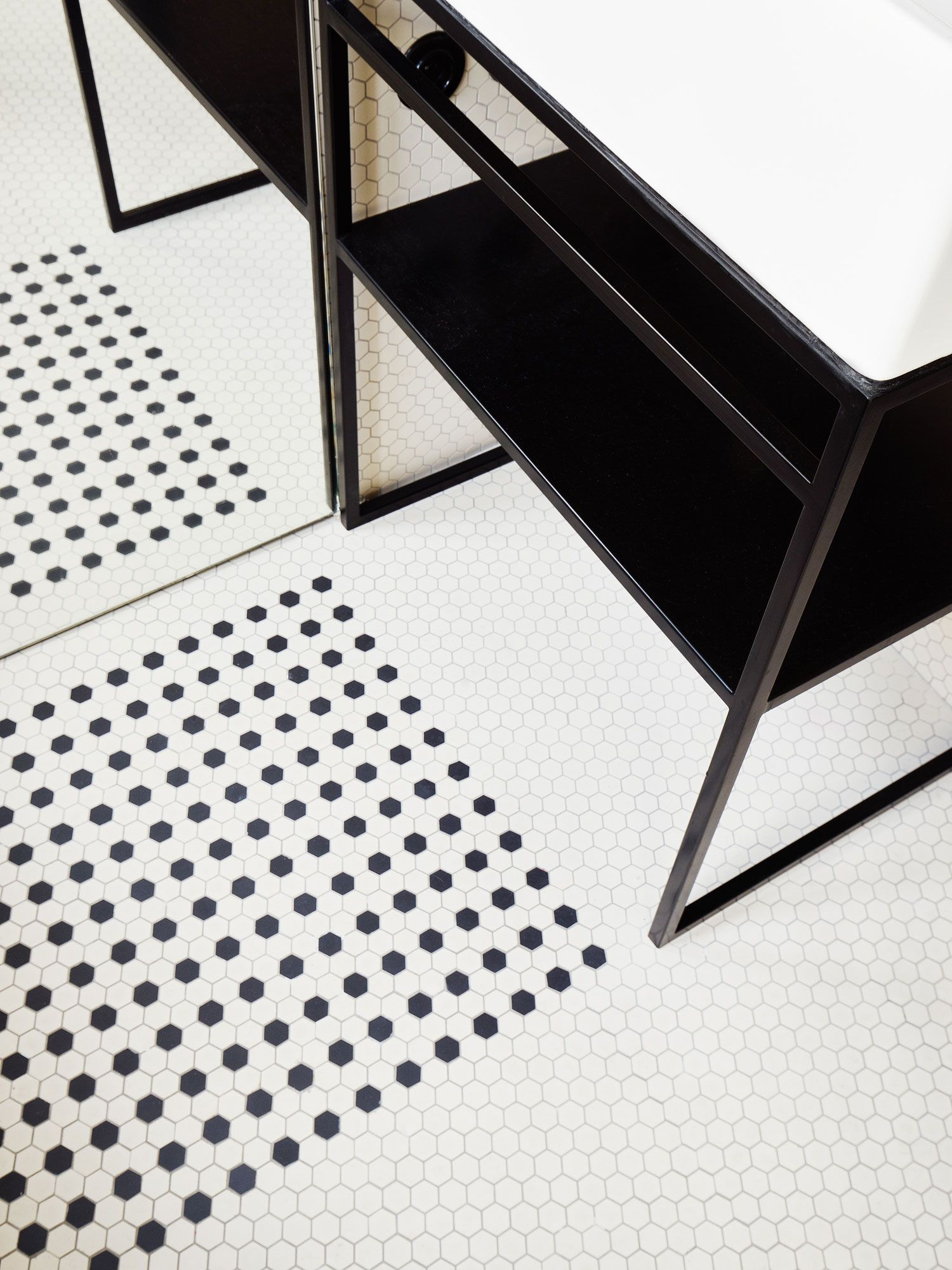 hubert apartment in paris by septembre architecture yellowtrace yellowtrace hex tilemosaic