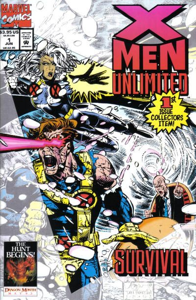 X Men Unlimited 1 By Chris Bachalo Dan Panosian X Men Comic Books Marvel Comic Books