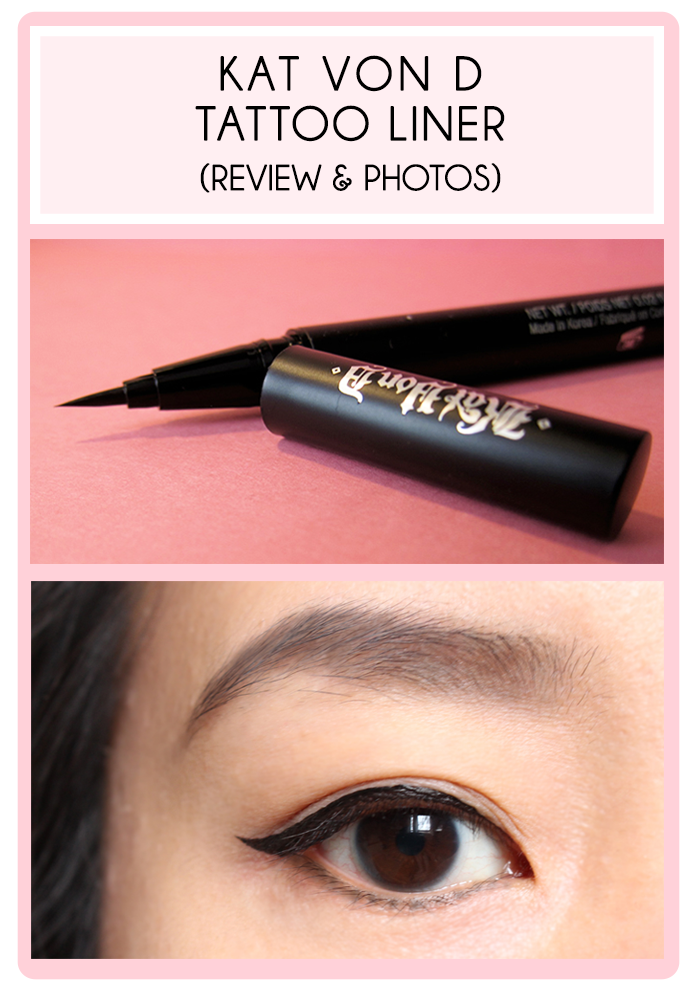 Kat Von D Tattoo Liner Review & Photos ** my favorite