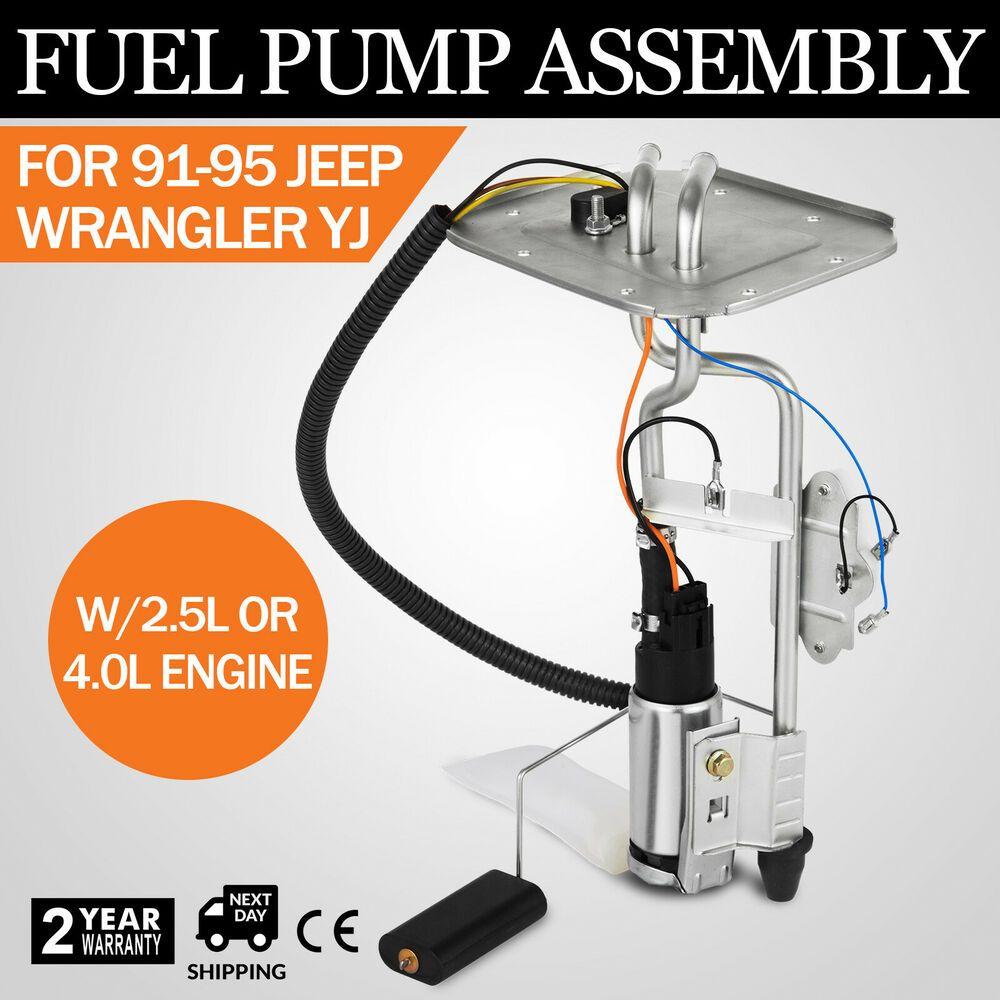 Ebay Sponsored New Fuel Pump Sending Unit For 1991 1992 93 94 1995 Jeep Wrangler 20 Gal Usa Jeep Wrangler Jeep Wrangler Yj Jeep