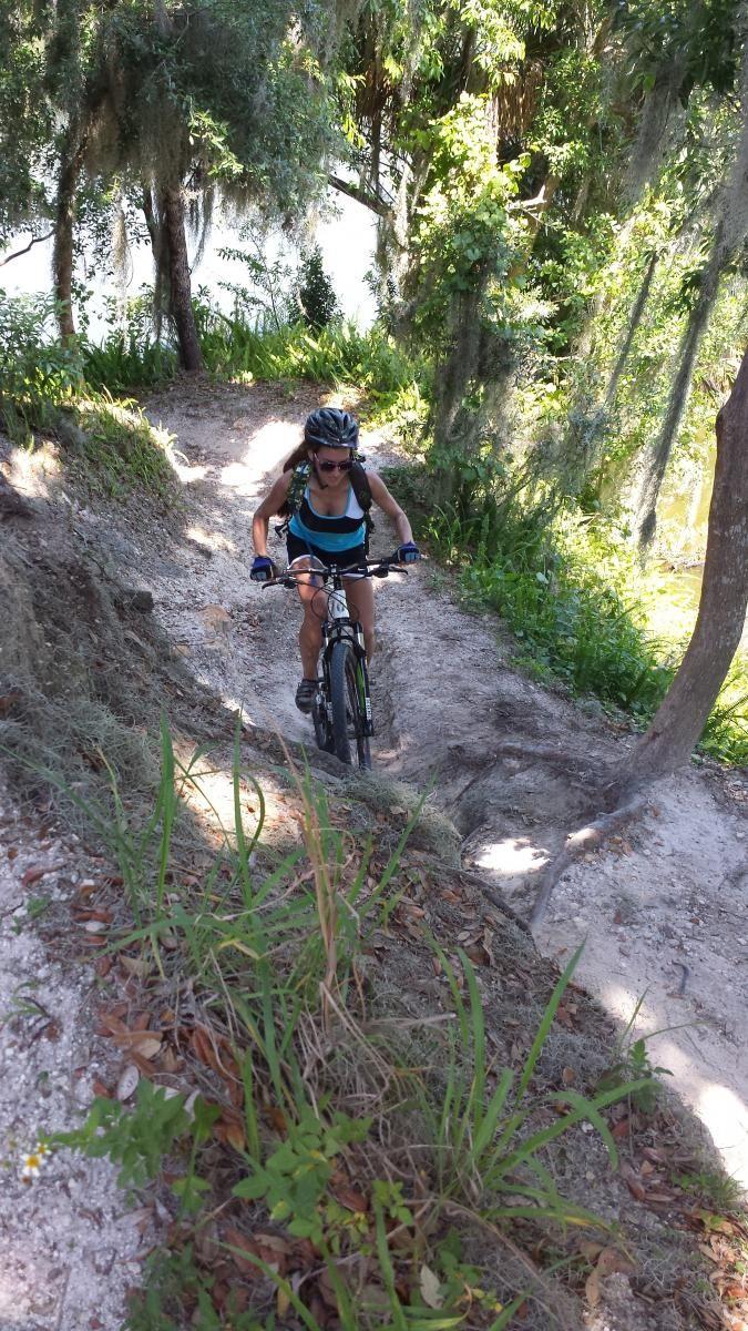 Loyce E Harpe Park Carter Road Mountain Bike Trail In Lakeland