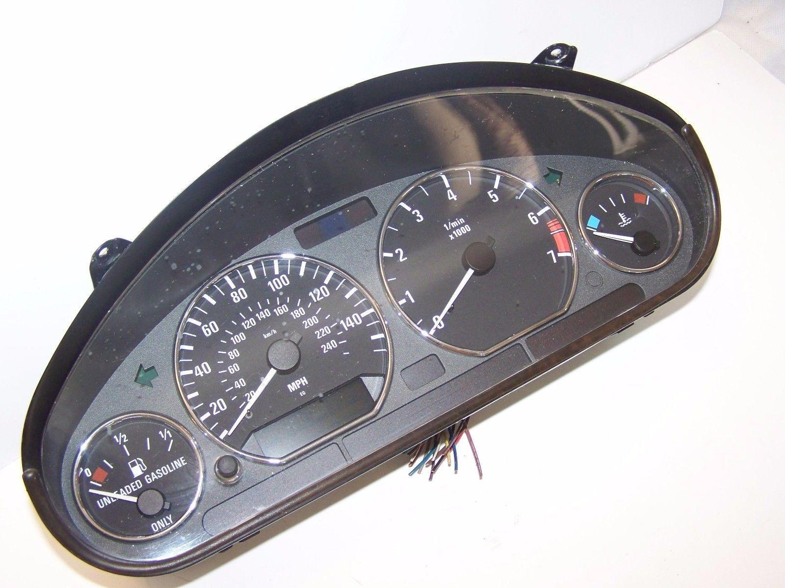 medium resolution of 99 02 bmw z3 roadster instrument cluster gauge speedometer oem