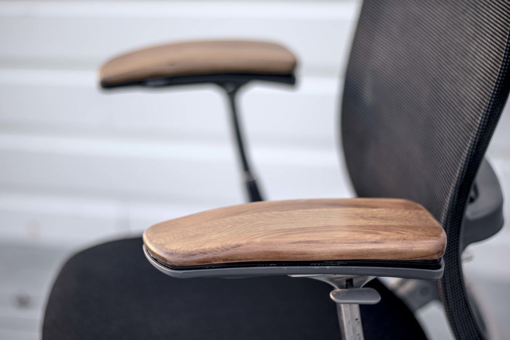 Replace Worn Arm Rests On A Secondhand Chair Furniture Upcycle