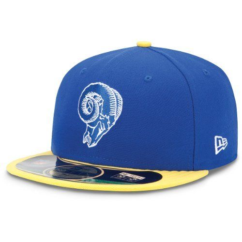 buy online e1965 6c342 Men s New Era St. Louis Rams On Field Classic 59FIFTY  Football Structured Fitted  Hat by New Era.  34.99. Celebrate your team s past in this men s New Era