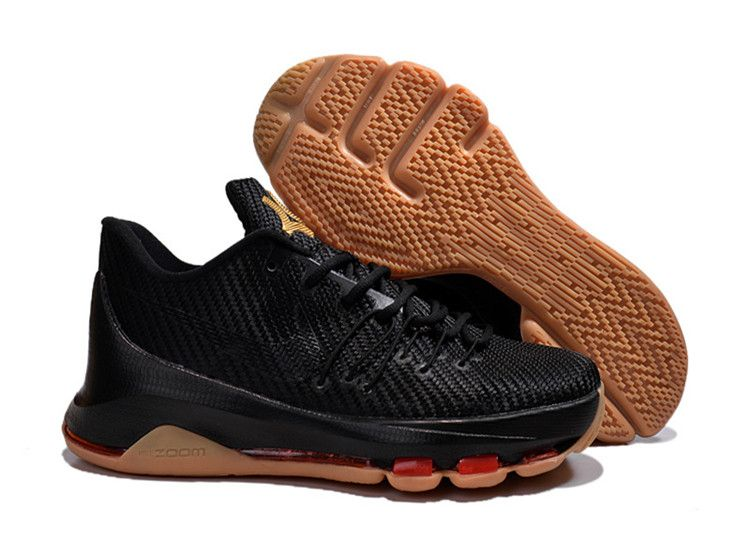 competitive price 46a8a c9515 Nike KD 8 Basketball Shoes Brown Black | Nikes in 2019 ...