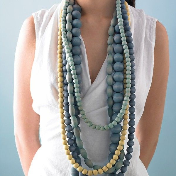DIY Recycled Jewelry Necklace for Ladies