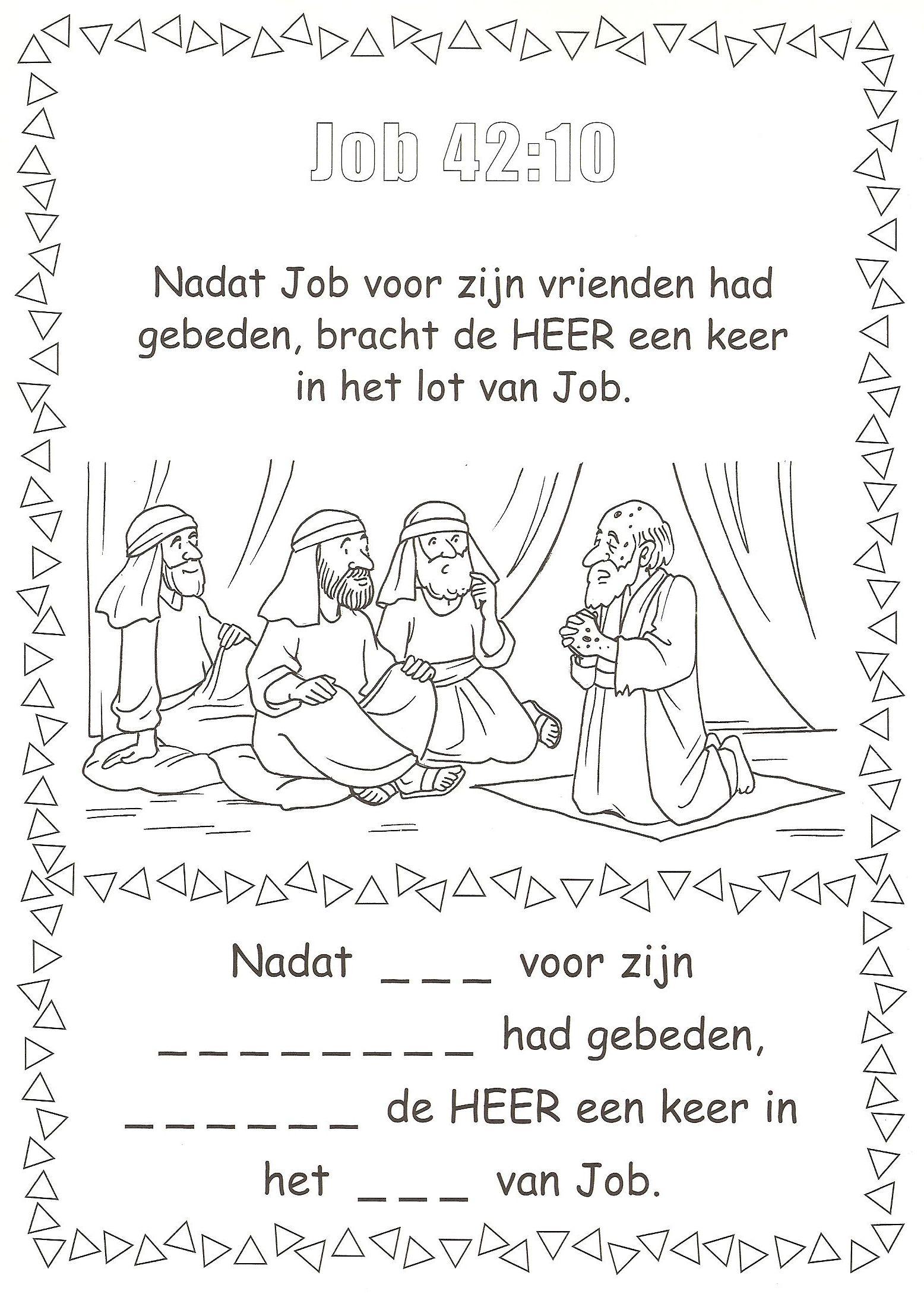 kleurplaat bijbel