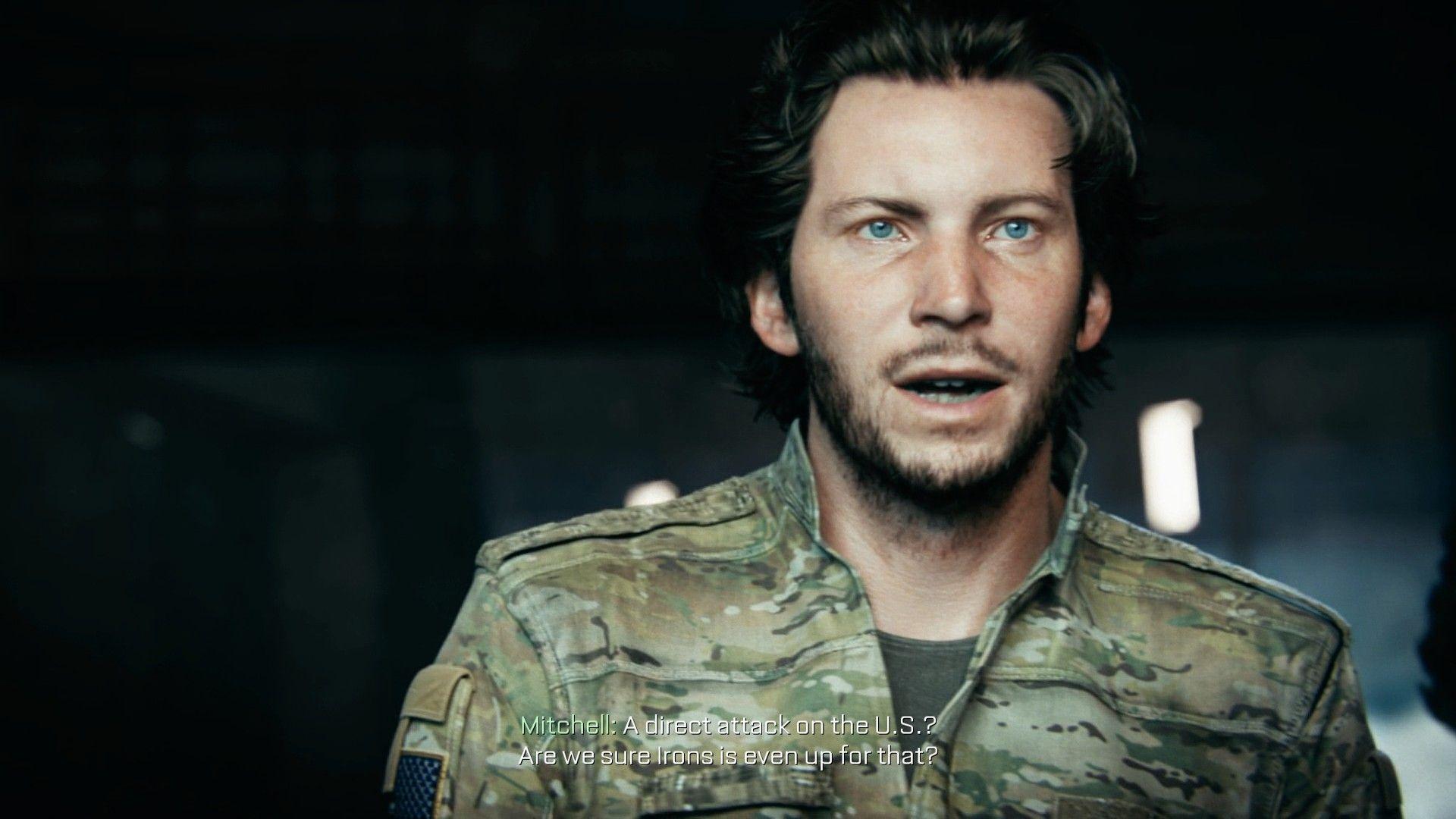 Jack Mitchell Call Of Duty Advanced Warfare
