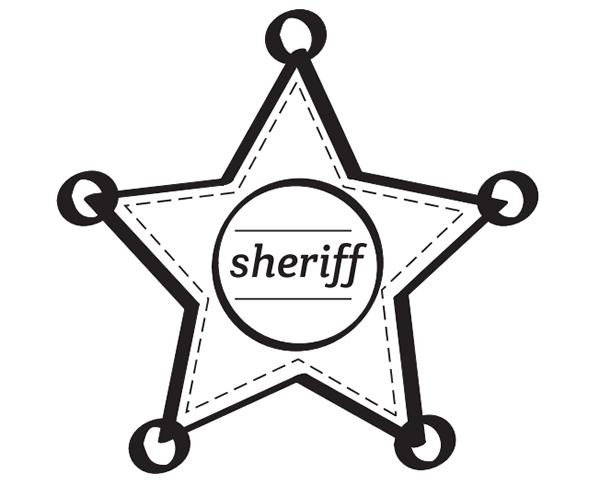 estrella de sheriff para imprimir … | digna en 2018 | Pinterest ...