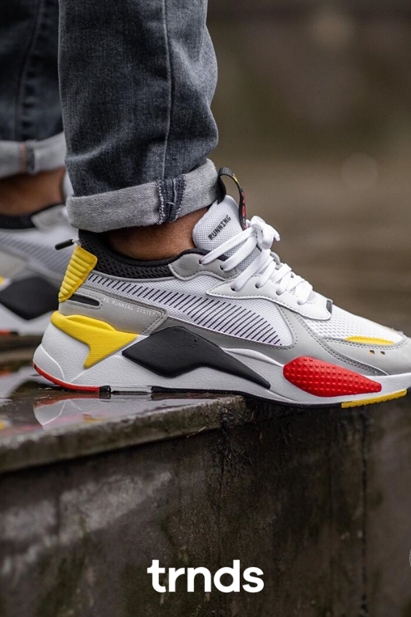 Puma RS-X Toys White/Black-Cyber Yellow - 369449-15 in 2020 ...