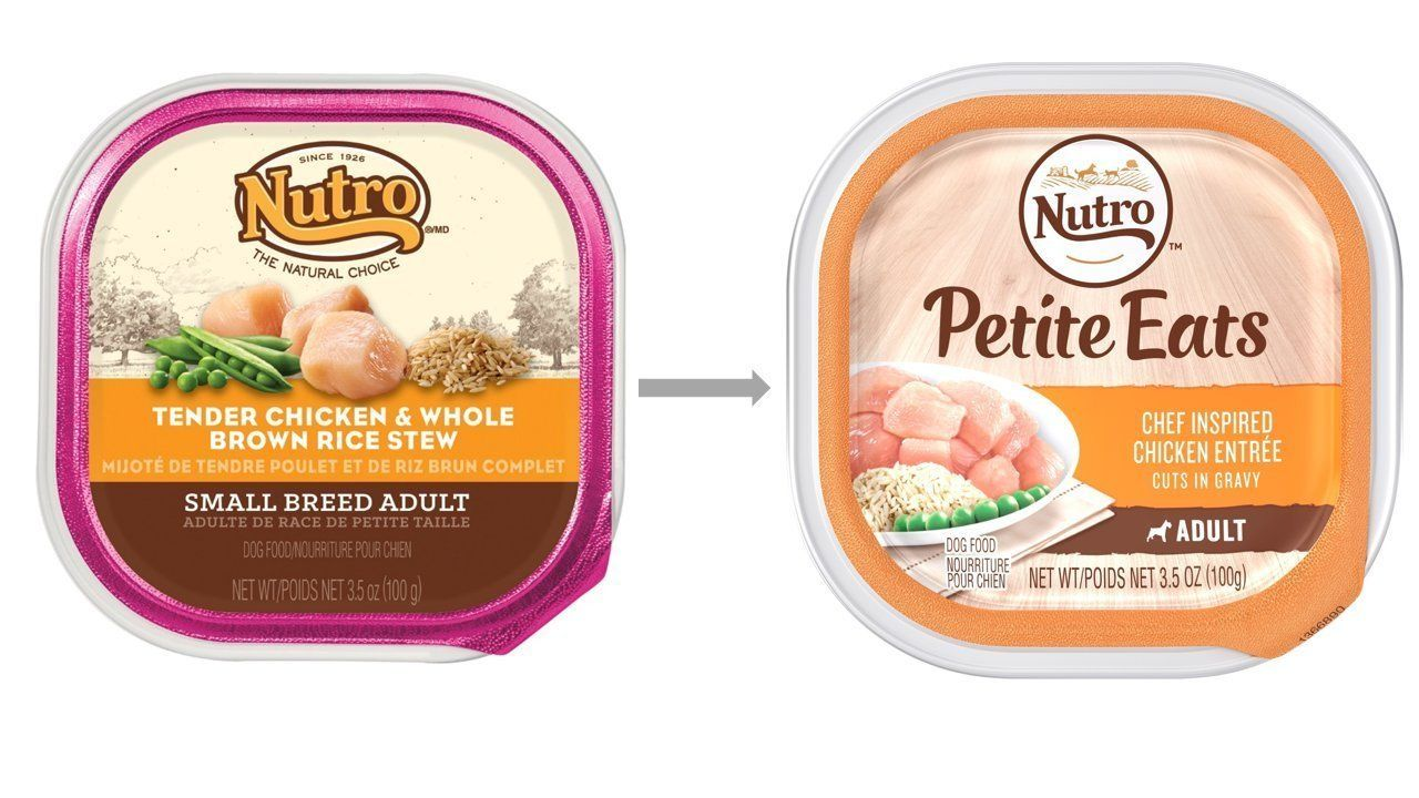 Nutro Small Breed Dog Food 4 Flavor 8 Can With Toy Bundle 2 Ultra