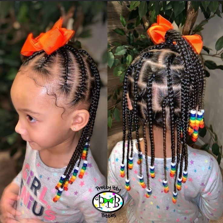 Natural Hairstyles With Beads Braids For Black Hair Little Girls Natural Hairstyles Baby Hairstyles