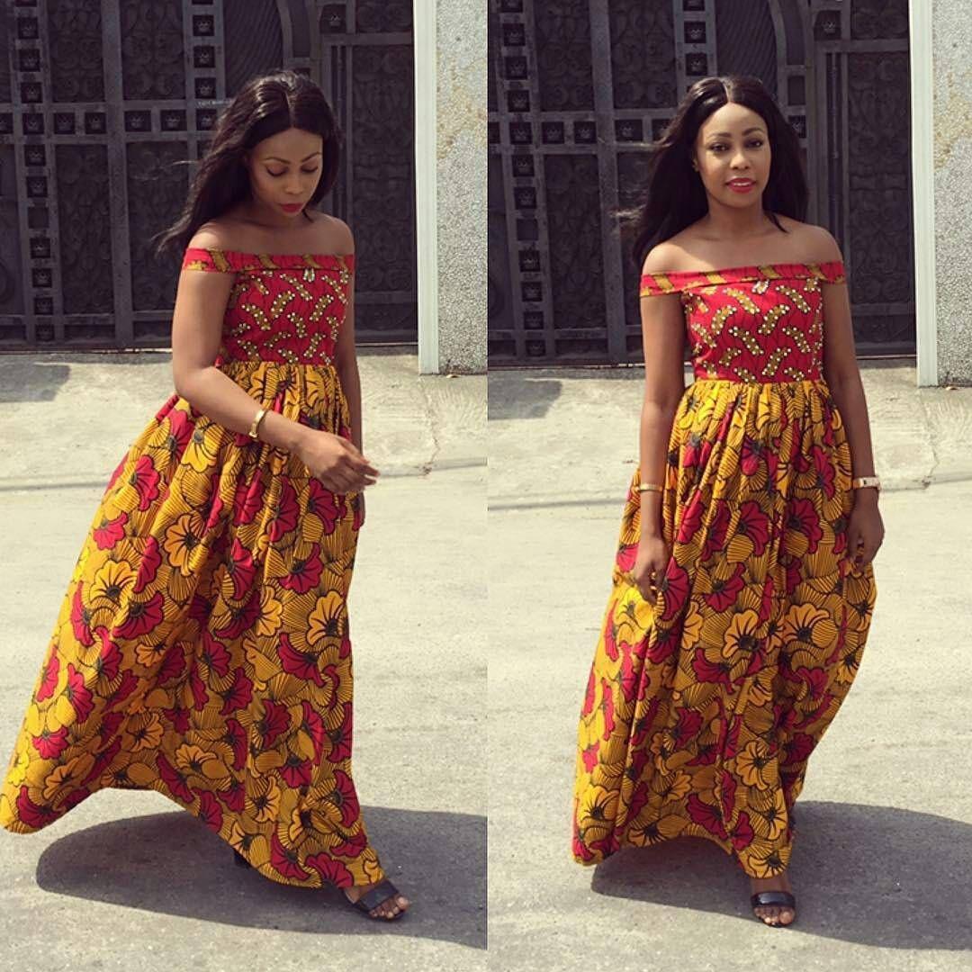 Ankara Short Dresses Style African Styles Ankara Styles African