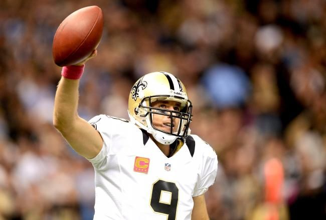 Chargers Vs Saints Drew Brees Historic Day Leads New Orleans To 31 24 Win New Orleans Saints San Diego Chargers New Orleans